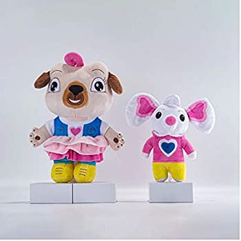 2020 New School Cartoon Movies Chip and Potato Stuffed Plush Toys And Mouse Peluche Doll Gift For Children