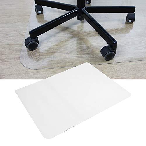 Alfombrilla transparente para silla, antideslizante, resistente, duradera, para silla, protector de suelo rectangular, transparente, para oficina, hogar, alfombrilla para el suelo, 47x35,4 pulgada