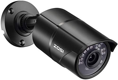 """ZOSI 1/3"""" CMOS 1000TVL 960H CCTV Home Surveillance 3.6mm Lens with IR Cut Bullet Security Camera - 36PCS Infrared LEDs,100ft IR Distance, Weatherproof, Aluminum Metal Housing (Renewed)"""