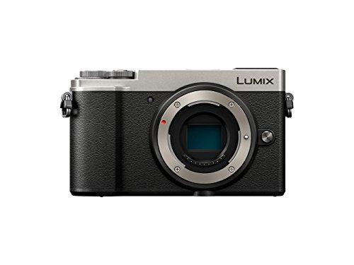 Panasonic Lumix GX9 | Appareil Photo Hybride Compact (Capteur 4/3 20MP, Double stabilisation, Viseur Inclinable, Écran inclin. tact., AF DFD, Vidéo 4K, Bluetooth & Wifi) Silver – Version Française