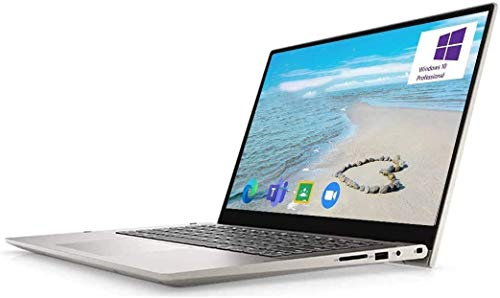 "2021 Dell Inspiron 14 5000 2-in-1 Convertible Laptop Computer, 14"" FHD Touchscreen, 11th Gen Intel 4-Core i7-1165G7, 12GB DDR4 RAM, 512GB NVMe M.2 SSD, Windows 10 Pro, Wi-Fi 6, Webcam, USB-C, HDMI"