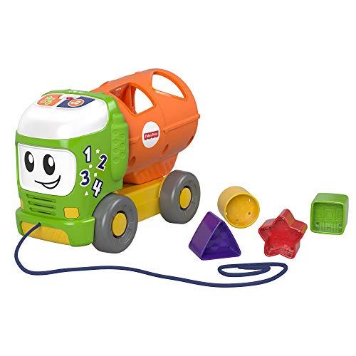 Fisher-Price Fisher-Price-GFY41 Ordinamento e Spill Learning Truck, Interattivo Giocattolo Musicale Baby Toy, Multicolore, GFY41