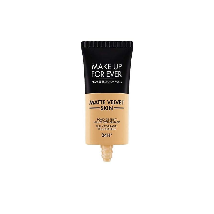 不均一辞書意味するメイクアップフォーエバー Matte Velvet Skin Full Coverage Foundation - # Y365 (Desert) 30ml/1oz並行輸入品