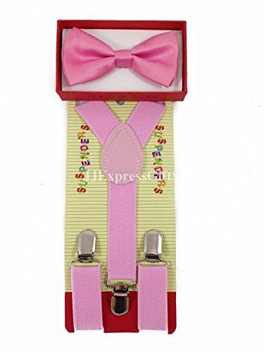 Kids World Of Toys-Men's Pretied Nœud Papillon avec jarretelles - Multicolore - Taille unique