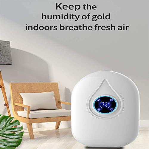 Buy Discount FWSY Remote Control Dehumidifie, Dehumidifier for Home Bedroom Up to for Bathroom Space...