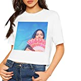 XWWX Women Sexy Kacey Musgraves Short Sleeve T Shirts White
