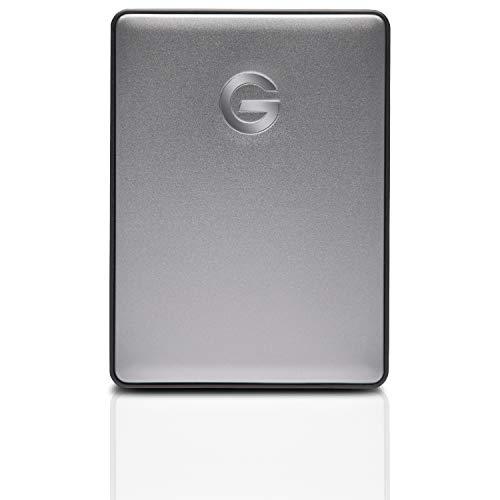 G-Technology G-Drive Mobile USB-C - Disco Duro Externo, 5TB, Gris Espacial