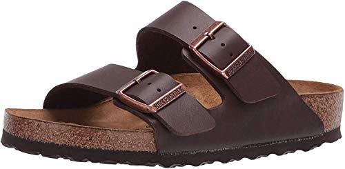 Birkenstock Unisex Arizona Brown Birko Flor Sandals - 11-11.5 B(M) US Women/9-9.5 B(M) US Men