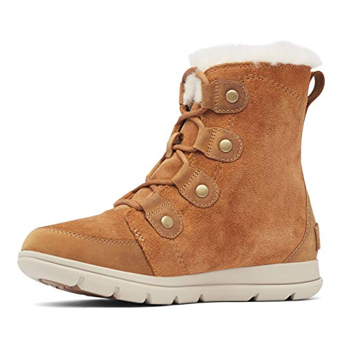 Sorel Damen-Stiefel, SOREL EXPLORER JOAN, Braun (Camel Brown, Ancient Fossil), Größe: 38