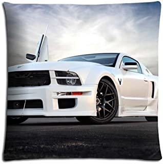 car pillow covers Polyester and Cotton Standard-sized Health 16x24 16