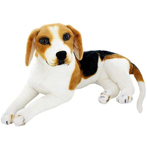 JESONN Realistic Stuffed Animals Beagle Dog Plush Toys (15.3 Inch)