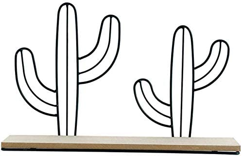 XingKunBMshop Solid New Nippon regular agency arrival Wood Shelf Word Cactus Hangin Partition Wall