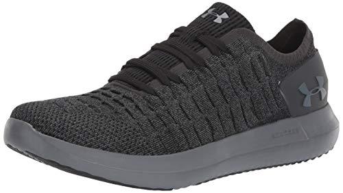 Under Armour Men's Slingride 2 Sneaker, Black (006)/Pitch Gray, 14