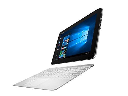 Asus T100HA-FU027T 25,7 cm (10,1 Zoll Glare Type) Convertible Laptop (Intel Atom x5-Z8500, 4GB RAM, 128GB eMMC, Intel HD, Win 10 Home) weiß