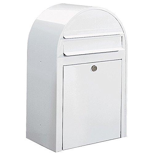 Bobi Classic Briefkasten RAL 9016 weiß Wandbriefkasten