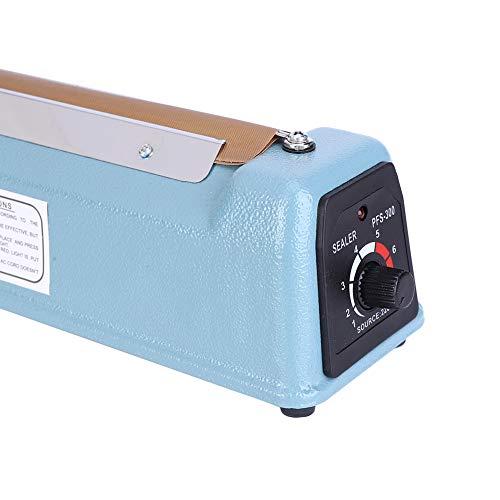 Sellador de bolsas de metal portátil PFS-300I para tienda de caramelos(European standard 220V, pink)
