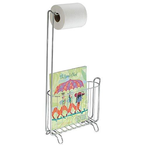 InterDesign 69740EU Classico Zeitschriften und Toilettenpapierhalter, chrom