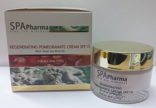 Creme SPA Pharma - Régénérante grenade - minéraux mer morte 50ml - tous types de peaux