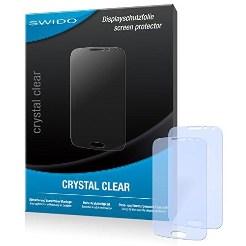 SWIDO Bildschirmschutz für Samsung Galaxy K Zoom LTE [4 Stück] Kristall-Klar, Hoher Festigkeitgrad, Schutz vor Öl, Staub & Kratzer/Schutzfolie, Bildschirmschutzfolie, Panzerglas Folie