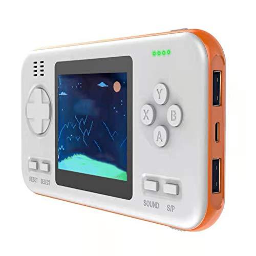 Portable Retro Pocket Gameboy, Mini Power Bank Handheld Games Console Met 2,8 Inch Extra Brede LCD-Monitor En Intelligente Automatische Energiebesparende Chip [416 Klassieke Games],B