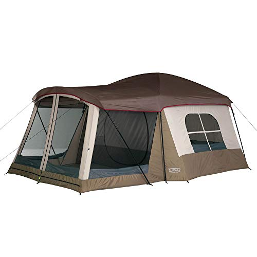 Wenzel Klondike 16 X 11 Feet 8 Person Family Cabin Dome Tent