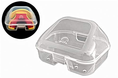 Coollo Sports Mouth Guard Case Lip Guard Mouthpiece Case for Most Brand Mouthguard (Lip-Mouthguard Case)