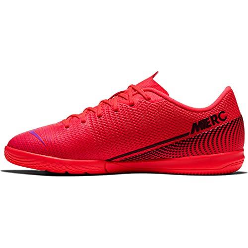 Nike Vapor 13 Academy IC, Scarpe per Calcetto a Cinque, Laser Arancione, Nero e Bianco, 30.5 EU