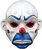 Faithvhk Hochwertige Harz Maske Joker Maske, Clown Dark
