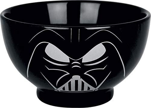 Star Wars BOWLSW01 Darth Vader Müslischale Schwarz