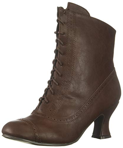 Ellie Shoes Women's 253-SARAH Mid Calf Boot, Brown, 9 M US