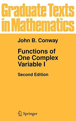 Functions of One Complex Variable (Graduate Texts in Mathematics - Vol 11)