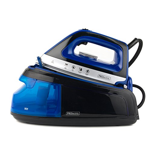 Prolectrix EF0279BGP-VDE Steam Surge Pro Iron with European Plug, 2400 W