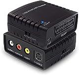 DIGITNOW! Video Capture Convertisseur Numerique, Convertisseur USB pour Hi8 DVR TV VHS Cassettes/Magnetoscope avec Câble RCA et SCART