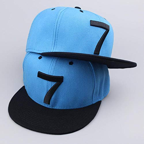 Baseball Kappe Snapback Cap HutNeue Cristiano Ronaldo Grau Cr7 Baseball Caps Hip Hop Sport Fußball Hut Männer & Frauen Mütze Blau