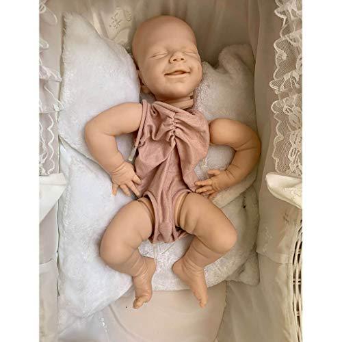 "Euyr 22"" Realistic Doll Kits, Silicone Dolls with Cloth and Body Parts, DIY Dolls"