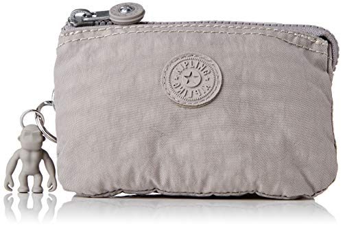 Kipling Creativity S, Pouches/Cases para Mujer, Grey Grau, 4x14.5x9.5 cm (LxWxH)
