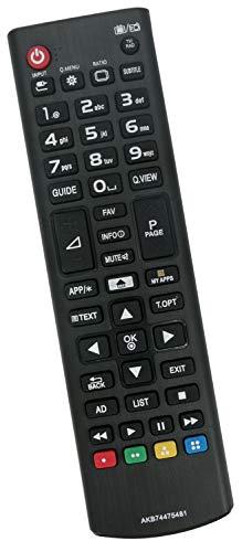 ALLIMITY AKB74475481 Fernbedienung Ersetzen für LG HD LCD TV 32LF592U 43UF640V 49UF640V 49UF680V 55LF592V 55UF6859 65UH600V 43LH560V 43UF6407 49UF6807 49UF685V 55UF6809 55UF685V