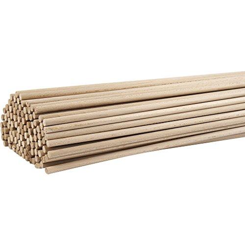 Holzstab L 60 cm Buche 10 Stück