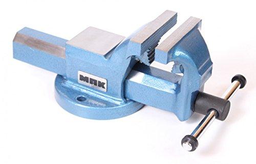 KIESEL Parallel bankschroef MAK 150 mm met aambeeld werkbank 19,5 kg