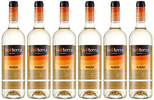 Veliterra Verdejo - 6 Botellas de 0.75 L - Total: 4500 ml