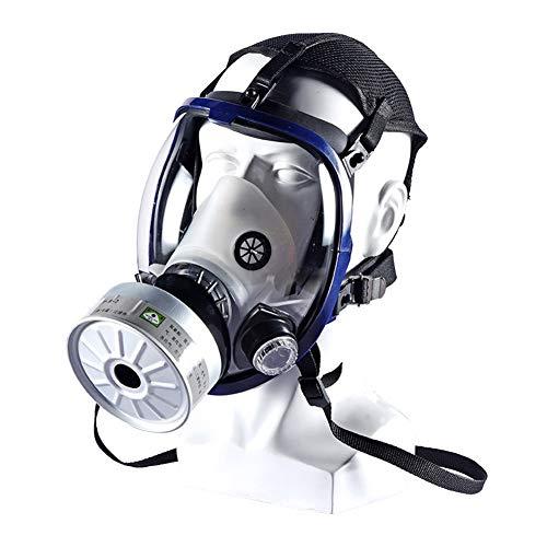Gas Masker Voor Voor Het Schilderen Spuiten Stof En Andere Werk Protection, Full Seal Protection Rubber, Perfect Fit To Het Hele Gezicht Veilig Te Gebruiken, Inclusief Filter