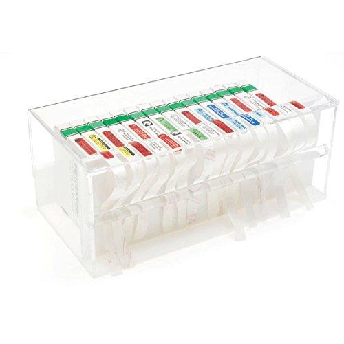Dividable Dispenser for Pre-Cut Labels 12