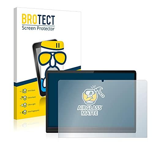 BROTECT Protector Pantalla Cristal Mate Compatible con Lenovo Yoga Tab 11 Protector Pantalla Anti-Reflejos Vidrio, AirGlass