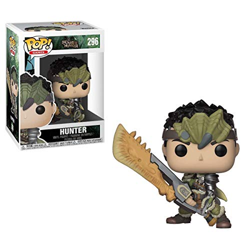 Funko Pop!- Games: Monster Hunters Male Figura de Vinilo (27344)