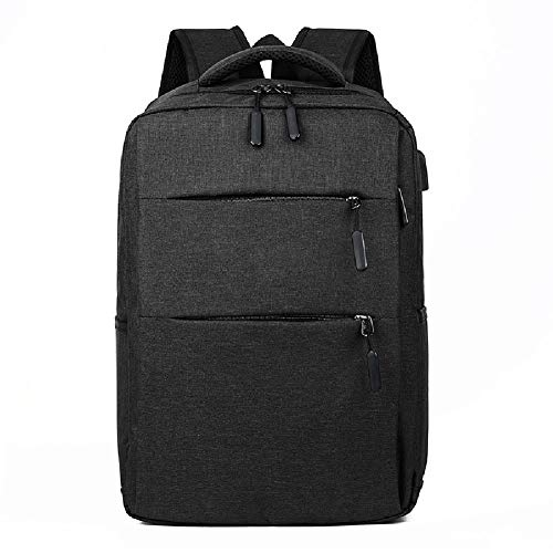 Bolso doble para computadora portátil de 15.6 pulgadas, mochila impermeable, mochilas escolares ligeras de gran capacidad para hombres y mujeres, mochila de gran capacidad para negocios de ocio al ai