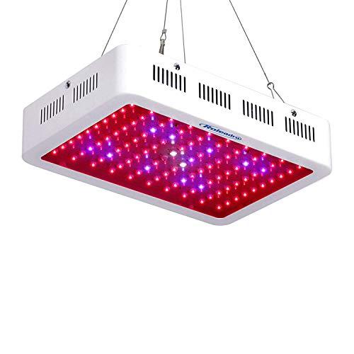 Roleadro LED Pflanzenlampe 1000W Pflanzenlicht Vollspektrum LED Grow Light mit IR UV Licht für Gewächshaus Pflanzen Gemüse und Blüte