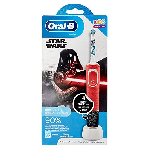 Oral-B Kids Cepillo Eléctrico Recargable – Mejor cepillo eléctrico infantil