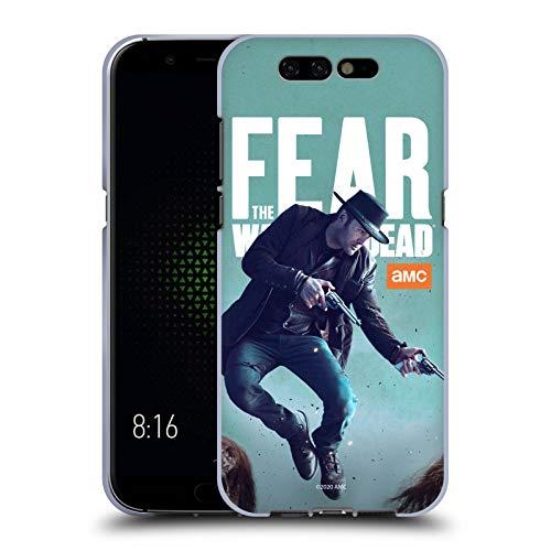 Head Hülle Designs Offizielle Fear The Walking Dead Garrett Darsteller Soft Gel Handyhülle Hülle Huelle kompatibel mit Xiaomi Black Shark