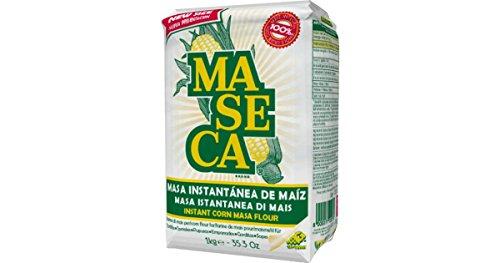Maseca - Mąka kukurydziana do tortillas, Kraj pochodzenia Włochy, opakowanie 1 kg - Harina de Maíz Maseca