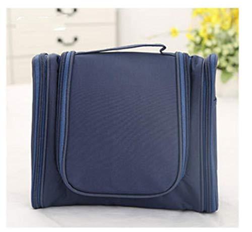 Sac de Lavage Suspendu Madame Maquillage Emballage extérieur Voyage étanche Taille 24 * 10,5 * 20,5 cm, Tibetan Blue